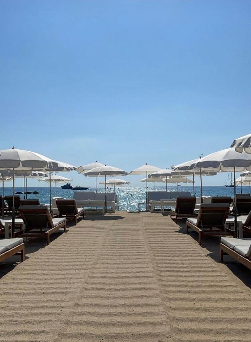 Club Les Palmiers Restaurant De Plage Ramatuelle Golfe De Saint Tropez Tourisme