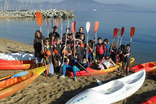 Sortie canoë kayak