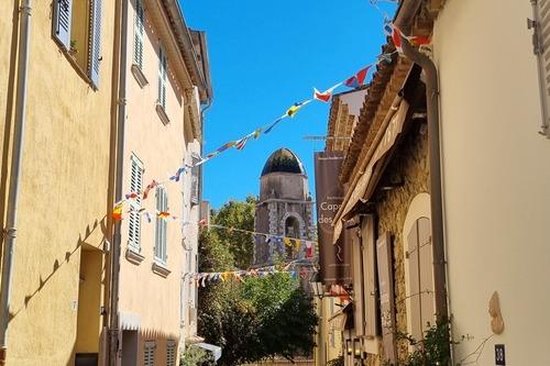 St-Tropez - clocher de la chapelle de la Miséricorde