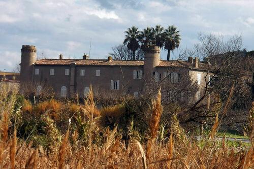 Le château Bertaud à Gassin