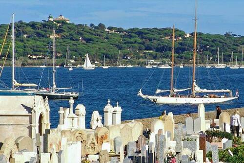 St-Tropez - cimetière marin