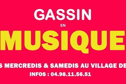 Gassin en musique