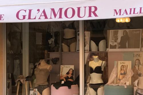 Devanture magasin lingerie
