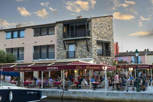 Restaurant la Marina Port Grimaud