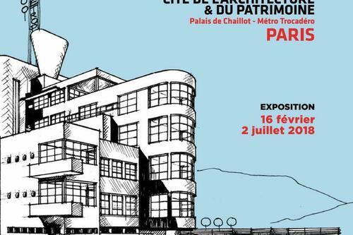 Affiche Expo Hommage à G-H Pingusson - Paris 2018