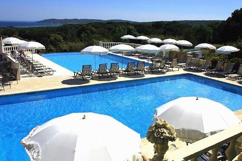 Mas Bellevue - Saint Tropez - terrasse et piscines