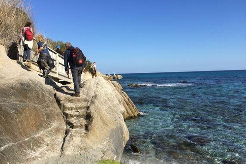 Sentier du littoral de l'Escalet à Cap Taillat