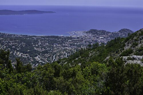 "Vue lors de la randonnée ""La Panoramique de Malatra"""