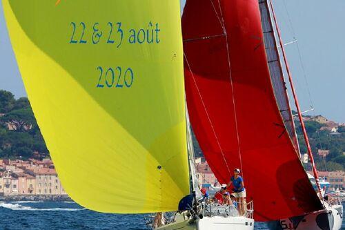 voilier dans la baie de Saint-Tropez