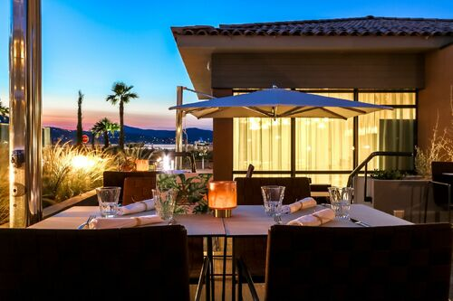 La terrasse du restaurant Inka