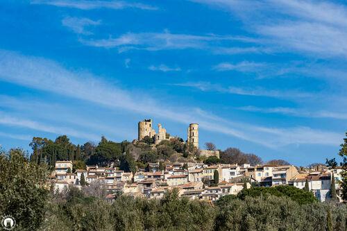 Grimaud village, balade Castellane