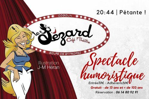 Cafe theatre Le Lezard