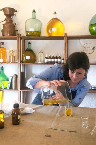 Atelier herboristerie et cosmétiques naturels
