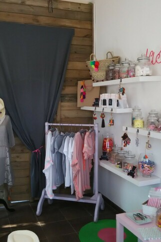 Candy shop à Gassin - intérieur