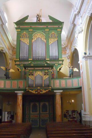 L'orgue de l'église de St-Tropez