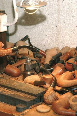Fabrication Pipes de Cogolin Courrieu Fils