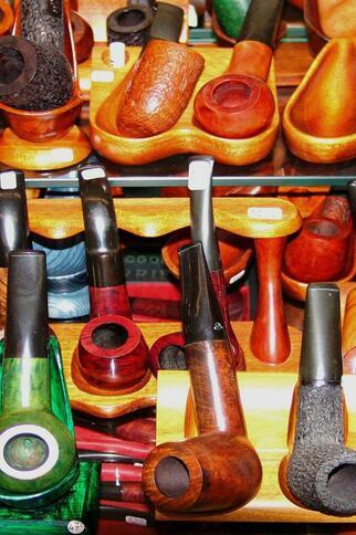 Différents modèles de pipes