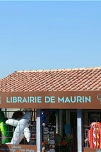 Façade Librairie Cave de Maurin