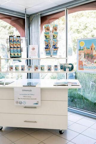 Boutique Office de Tourisme saisonnier de Port Grimaud