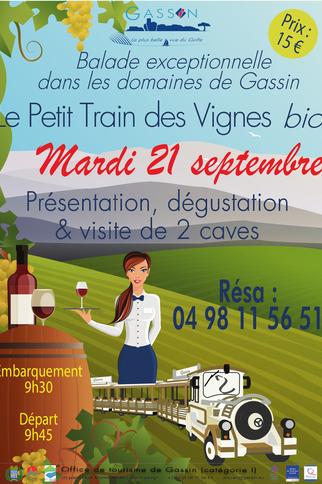 """Le """"Petit Train des Vignes"""""""