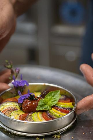 Restaurant La Verdoyante plat