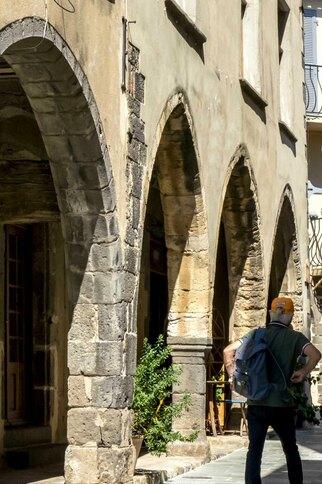 Rue des Templiers à Grimaud