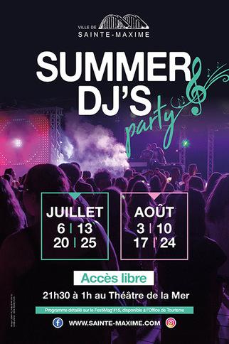Affiche Summer DJ