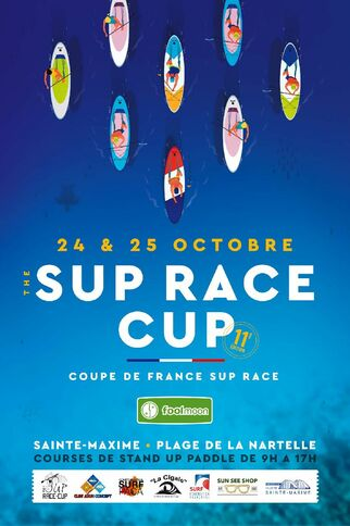 Courses de stand up paddle