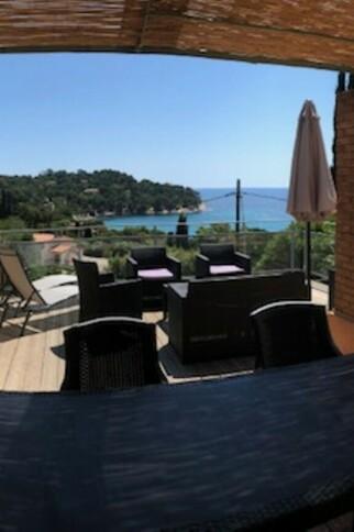 Terrasse villa Dolce Vita
